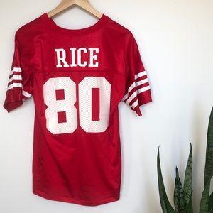 Vintage Jerry Rice San Francisco 49ers NFL Jersey